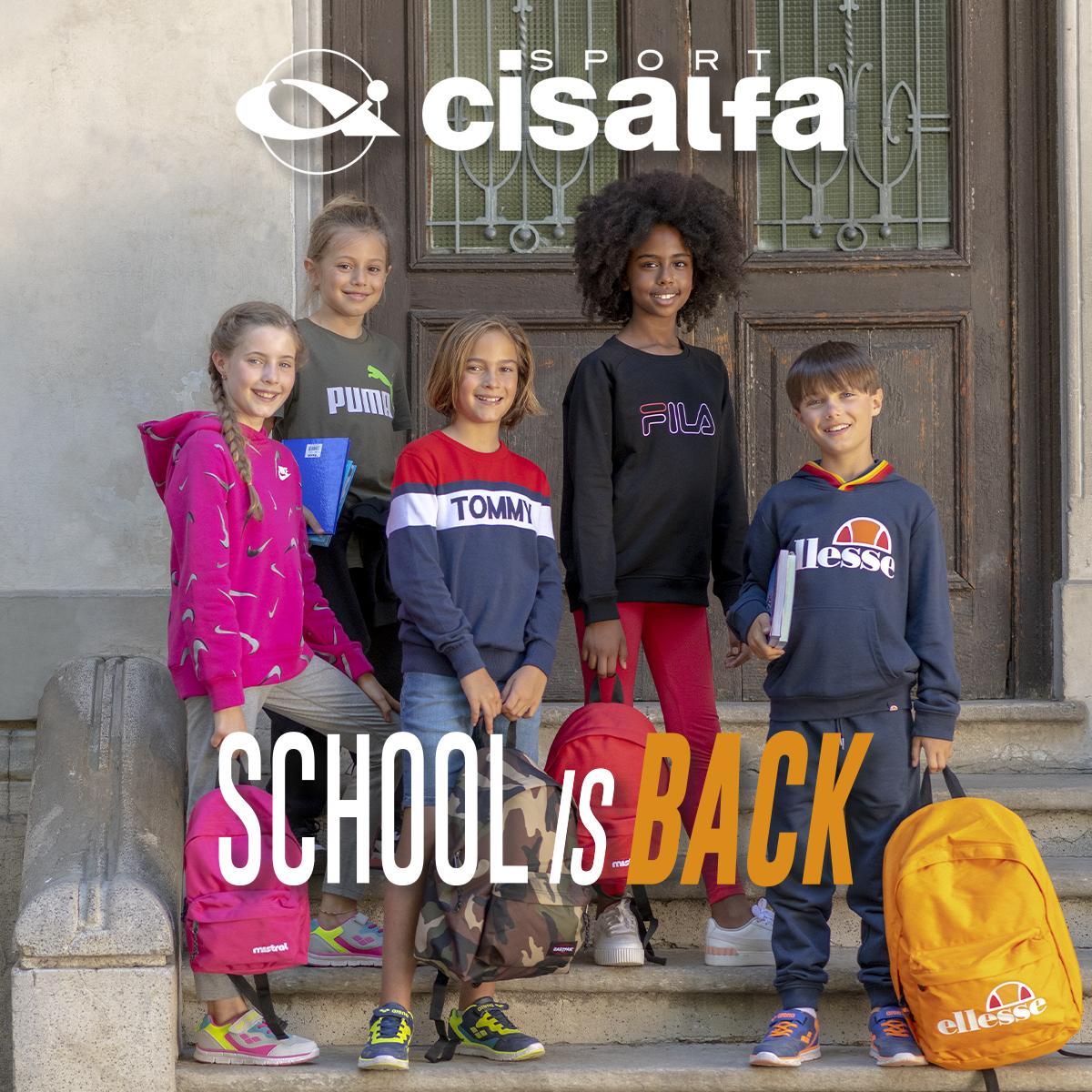 Cisalfa: SCHOOL IS BACK