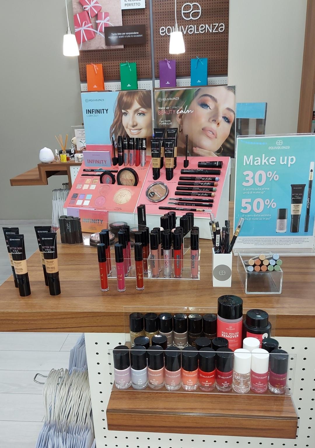 Equivalenza: Promozione Make up