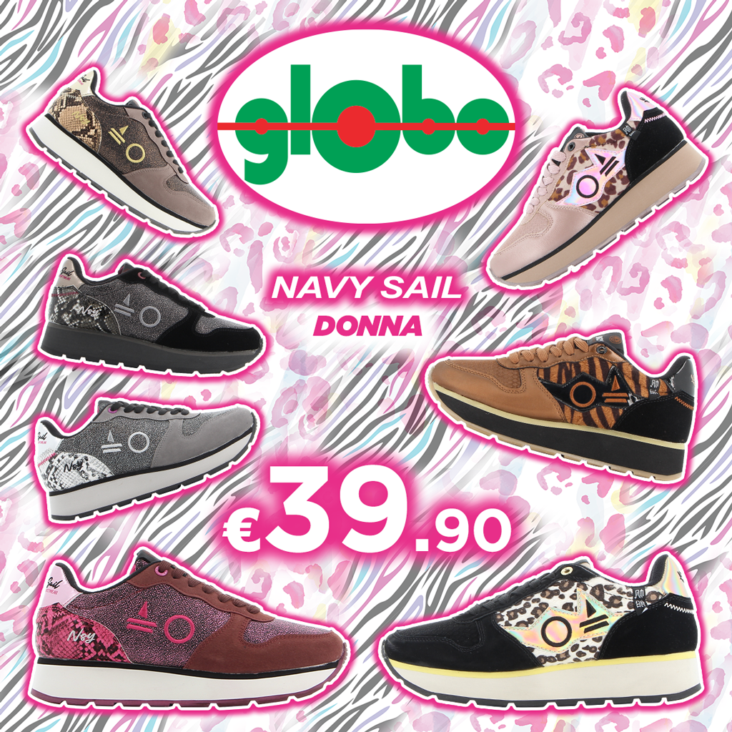 Globo: Navy Sail
